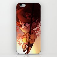 umbrella iPhone & iPod Skins featuring UMBRELLA by CherryVioletS