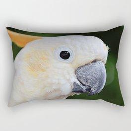 Citron-Crested Cockatoo Rectangular Pillow