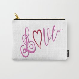 Love Text Carry-All Pouch