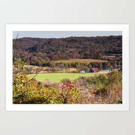 Down In The Valley - Natchez Trace Art Print