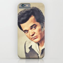 Conway Twitty, Music Legend iPhone Case
