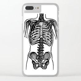 Bones. Clear iPhone Case