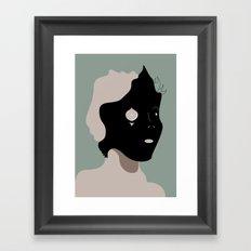 The Black Mask Collection 002 Framed Art Print
