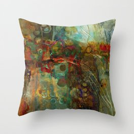Fall to Winter Throw Pillow
