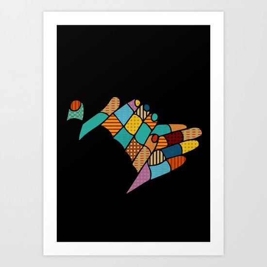 clap your hands Art Print