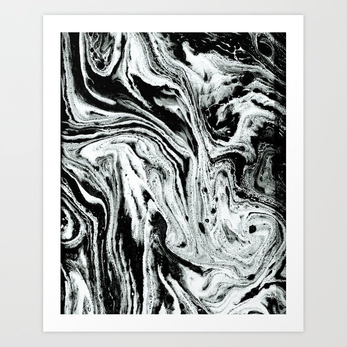 Ink Japanese Abstract Art