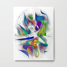 Fingerprint series 2 Metal Print