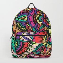 Flower Cover Mandala Backpack