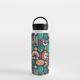Abstract Playground Water Bottle