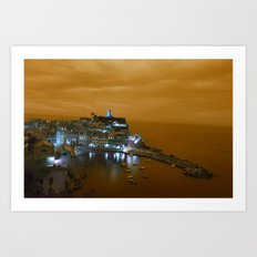 Island on the Coast Art Print