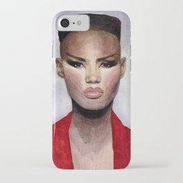 Grace Jones Portrait iPhone Case