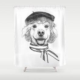 La Laika Shower Curtain