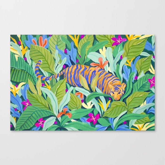 Colorful Jungle Leinwanddruck