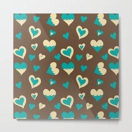 Baloon Heart Metal Print