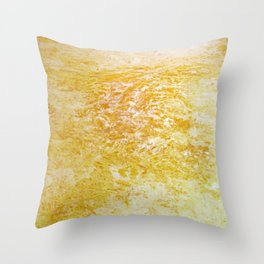 Yellow Ground Throw Pillow