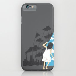 Hey Mr. Blue Sky iPhone Case