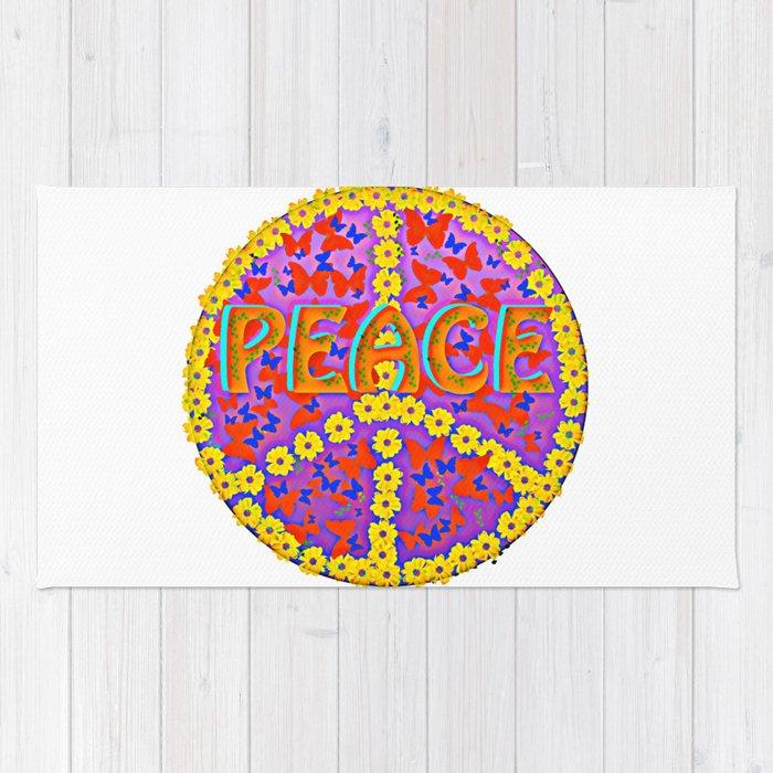Peace Magic Rug