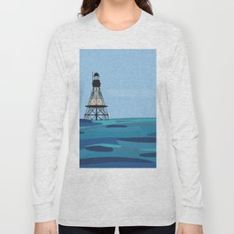 Fowey Rocks Lighthouse Long Sleeve T-shirt