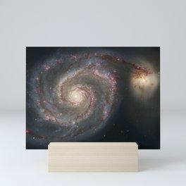 The Whirlpool Galaxy Mini Art Print