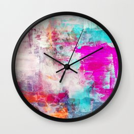 A Hidden Jewel Wall Clock