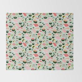 Sushi Love Throw Blanket