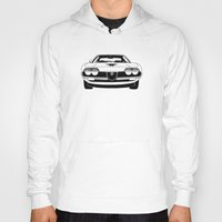montreal Hoodies featuring Alfa Romeo Montreal by DasWauto