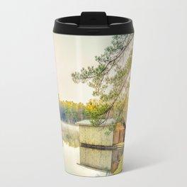 Lakescape at Sunrise Travel Mug