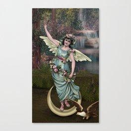 THE EMPRESS TAROT CARD Canvas Print