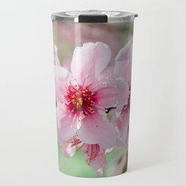 Peach Blossoms 15 Travel Mug