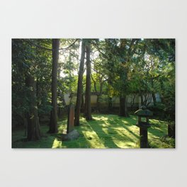 Temple Grounds in Kyoto, Japan Canvas Print