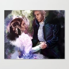 Makes no sense to fall Canvas Print