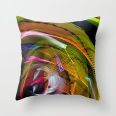 Experiments in Light Abstraction 3 Throw Pillow