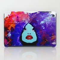 afro iPad Cases featuring afro color by WITH MY HANDS