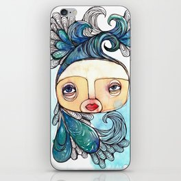 Watergirl iPhone Skin