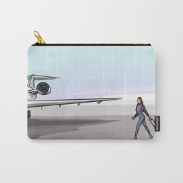 Plane with people Carry-All Pouch