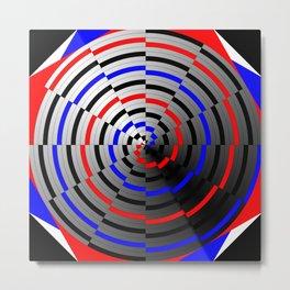 Spiral Cone Metal Print