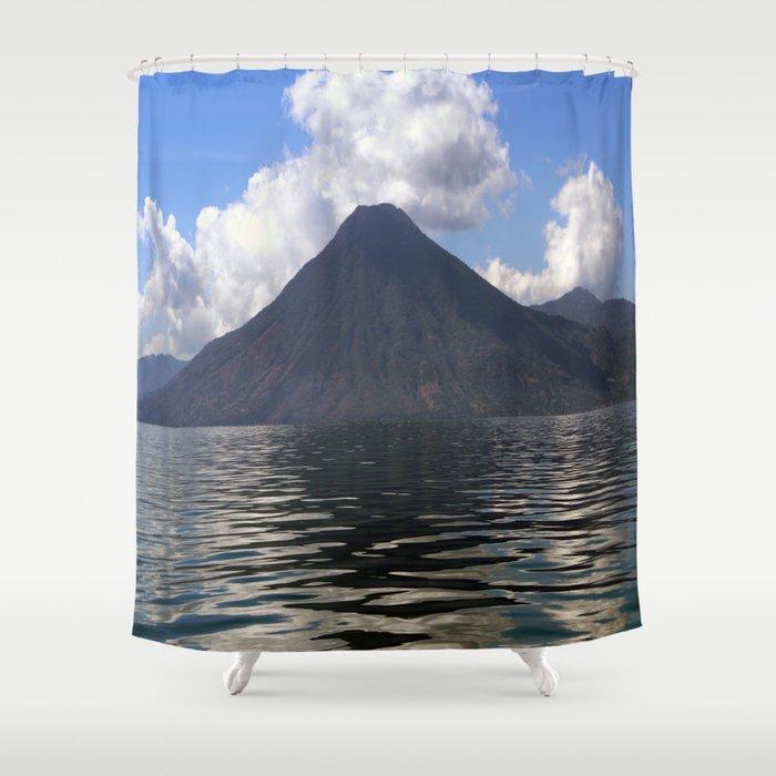 Lago de Atitlan, Guatemla Shower Curtain