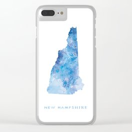 New Hampshire Clear iPhone Case