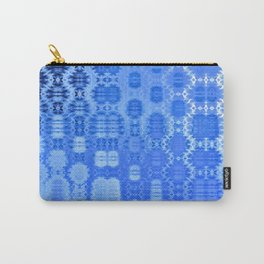 Martian Energies Pattern (dreamy blues) Carry-All Pouch