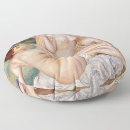 The Large Bathers Floor Pillow