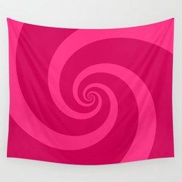 pink vortex Wall Tapestry