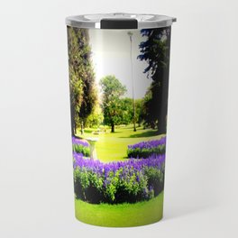 When the World wearies, there is always the Garden! Travel Mug
