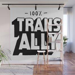 100% Trans Ally Wall Mural