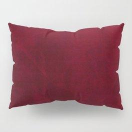 VELVET DESIGN - red, dark, burgundy Pillow Sham