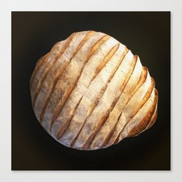 Sourdough Striped - 2015 Canvas Print