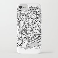 family iPhone & iPod Cases featuring family by ybalasiano