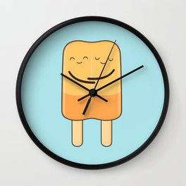 popsicles (stick together) Wall Clock