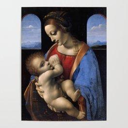 """Leonardo da Vinci """"Madona Litta"""" Poster"""