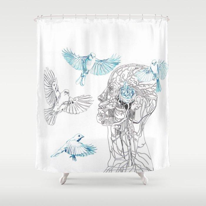 The Nest Shower Curtain