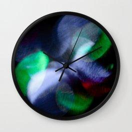 Light Flower Wall Clock